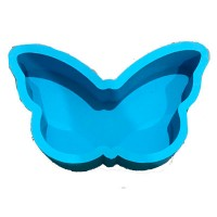 Бабочка 30*20, голубая
