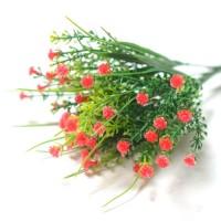 Букет с красными цветами