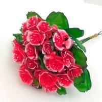 Роза букет, красный (упаковка 5 шт)