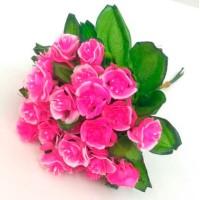 Роза букет, розовый (упаковка 5 шт)