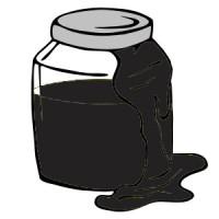 Черный гелевый пигмент, 10 гр