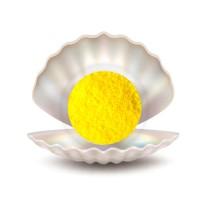 Жемчуг для ванны желтый, 1 кг