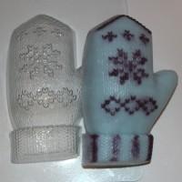 Варежка пластиковая форма