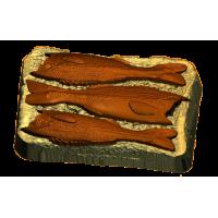 Бутерброд со шпротами, пластиковая форма