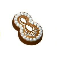 8 марта (пирожное), пластиковая форма