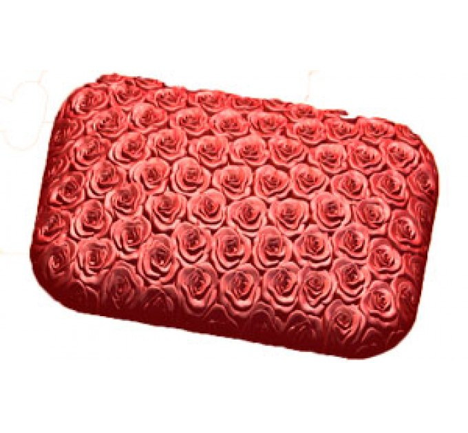 Брусок в розах, пластиковая форма