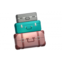 Багаж, пластиковая форма