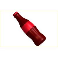 Бутылка колы, пластиковая форма