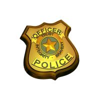 Полиция, пластиковая форма