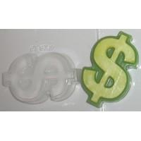 Доллар, пластиковая форма