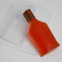 Бутылка коньяка - пластиковая форма