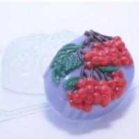 Гроздья рябины, пластиковая форма