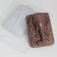 Слон индийский, пластиковая форма