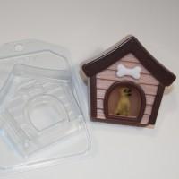 Будка собачья, пластиковая форма