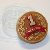 Медаль Чемпион, пластиковая форма