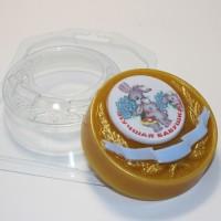 Медаль под водорастворимку, пластиковая форма
