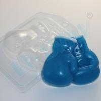 Боксерские перчатки, пластиковая форма