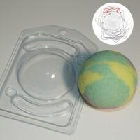 Полусфера d 70 мм, пластиковая форма