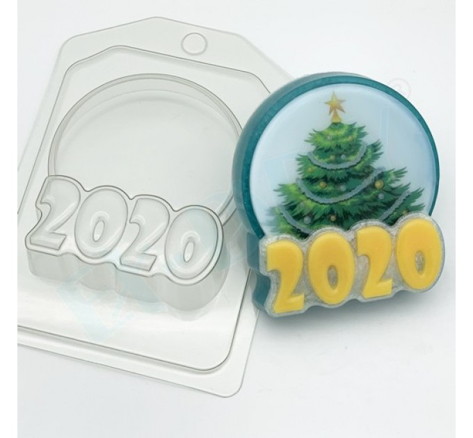 2020/круг под водорастворимку, пластиковая форма