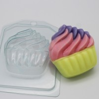 Мороженое/Мягкое в корзинке, пластиковая форма