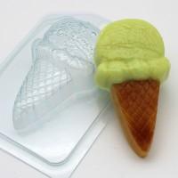 Мороженое/Рожок с шариком, пластиковая форма