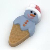 Мороженое/Снеговик, пластиковая форма