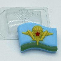 Флаг ВДВ, пластиковая форма