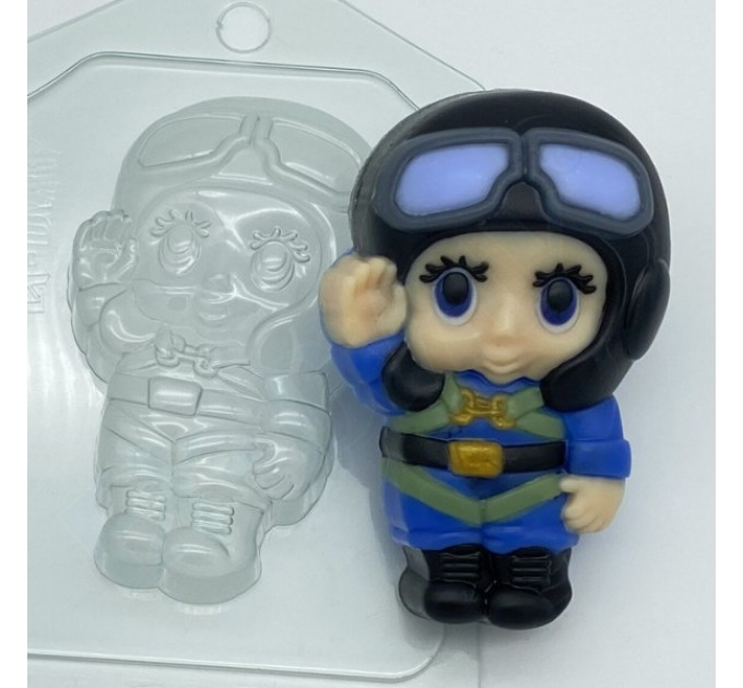 Малыш/летчик, пластиковая форма