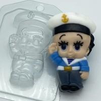 Малыш/моряк, пластиковая форма
