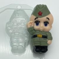 Малыш/солдат, пластиковая форма