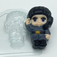 Малыш/танкист, пластиковая форма