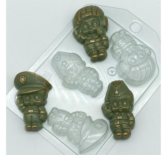 Малыши мини-2, пластиковая форма