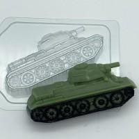 Танк Т-34/бок, пластиковая форма