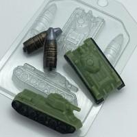 Танк Т-34/мини, пластиковая форма