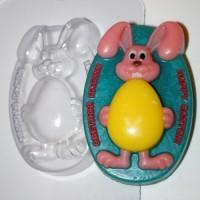 Кролик с яйцом форма