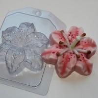 Лилия, пластиковая форма