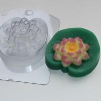 Лотос пластиковая форма