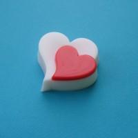 Сердце-романтика-3,  пластиковая форма