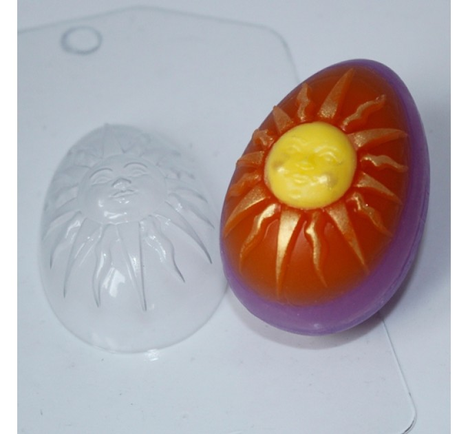 Яйцо-солнце, пластиковая форма