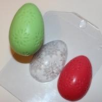 Яйцо-цветочный орнамент пластиковая форма