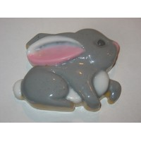 Заяц, пластиковая форма