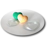 Сердце малое пластиковая форма