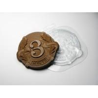 Медаль - 3 Место, пластиковая форма