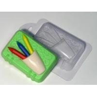 Блокнот с карандашами пластиковая форма