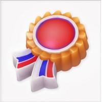 Медаль, пластиковая форма