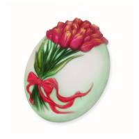 Букет тюльпанов, пластиковая форма