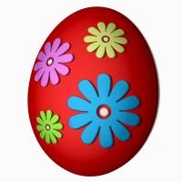 Яйцо-ромашка пластиковая форма
