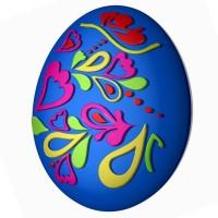 Яйцо-сердечки пластиковая форма