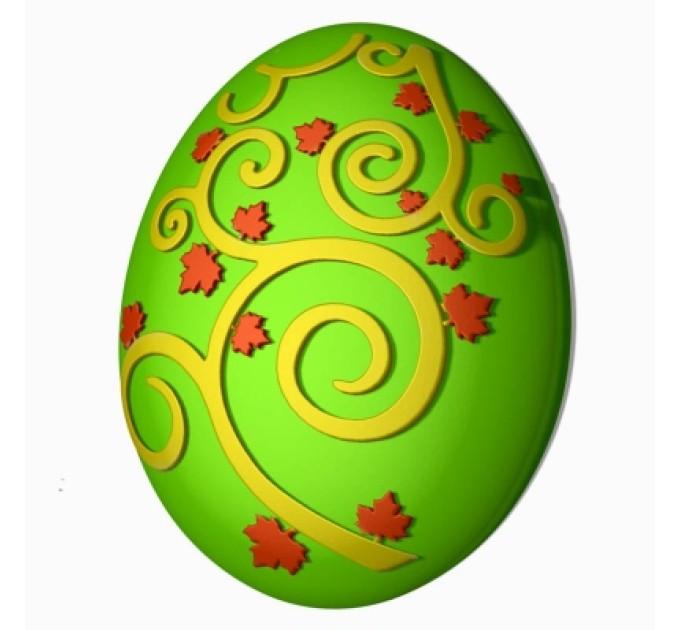 Яйцо-узор пластиковая форма