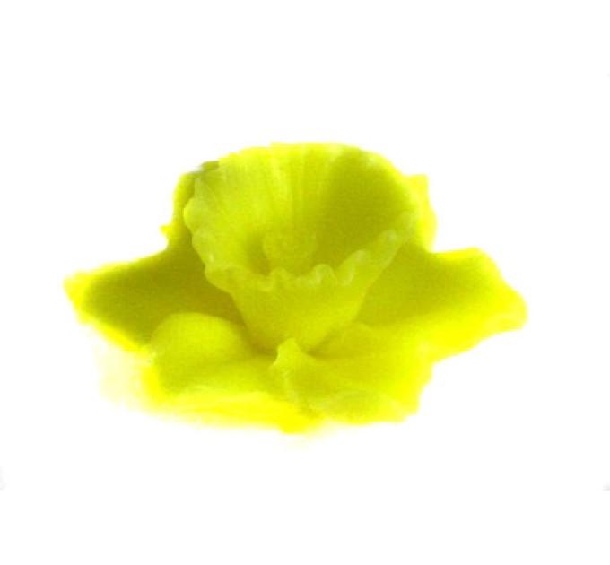 Силиконовая форма Лилия с листиком, 50 гр